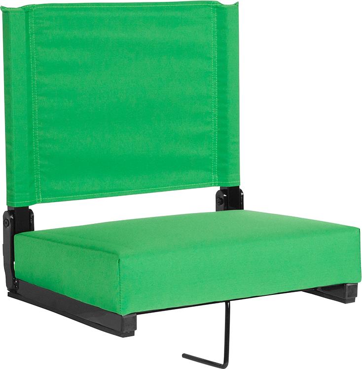 Bright Green Stadium Chair XU-STA-BGR-GG