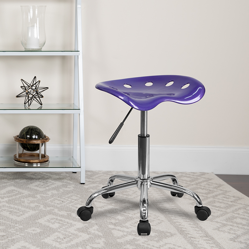 Violet Tractor Stool LF-214A-VIOLET-GG