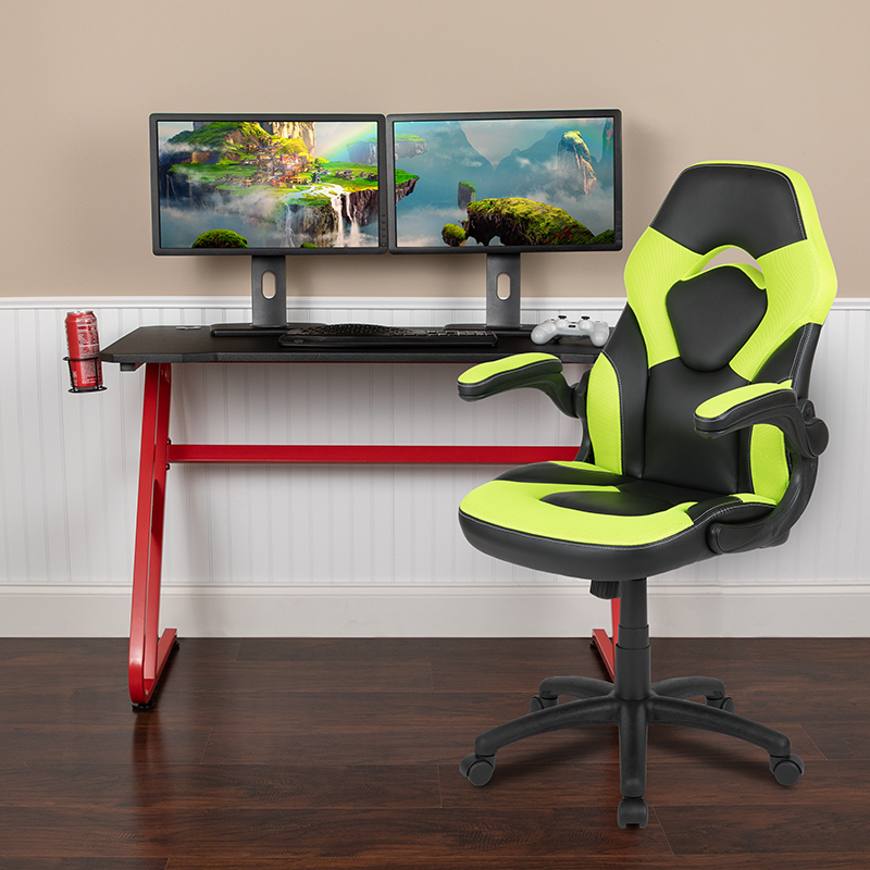 Red Gaming Desk and Chair Set BLN-X10RSG1030-GN-GG