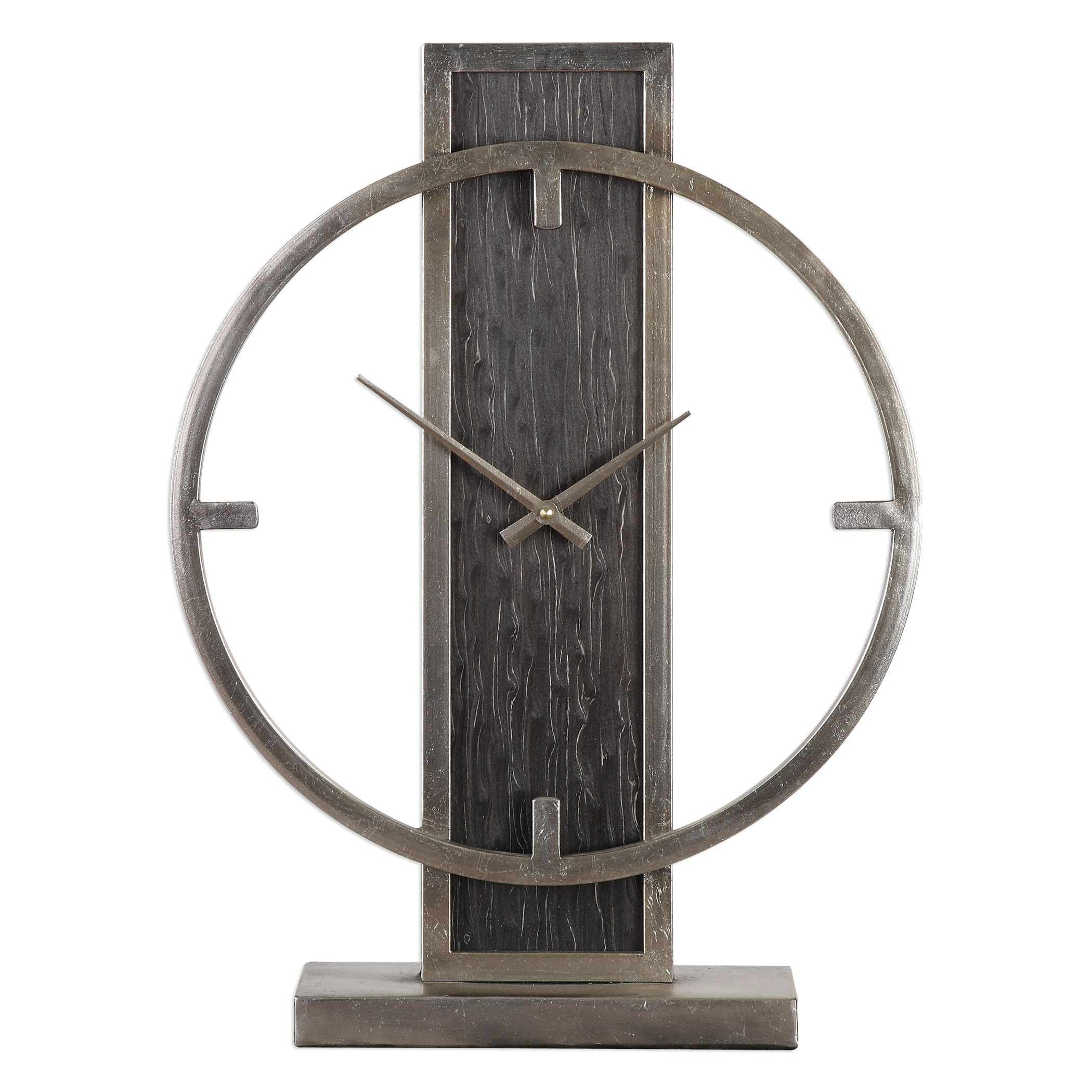 Uttermost Nico Modern Desk Clock