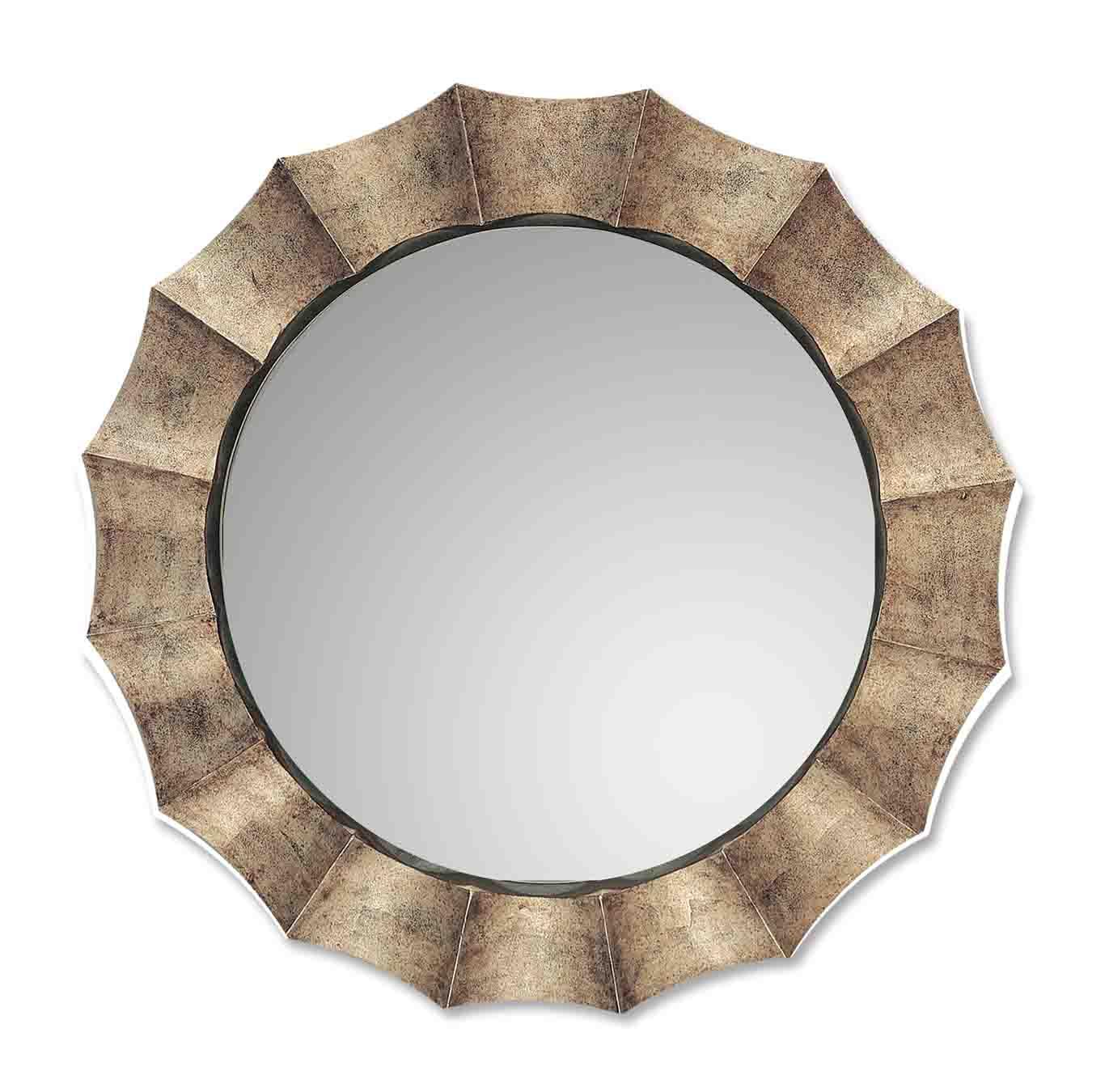 Uttermost Gotham U Antique Silver Mirror