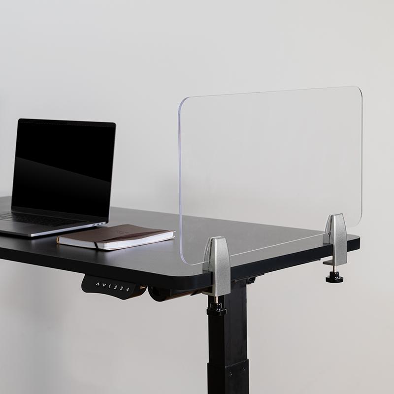 Clear Acrylic Desk Partition BR-DDIA-3058-GG