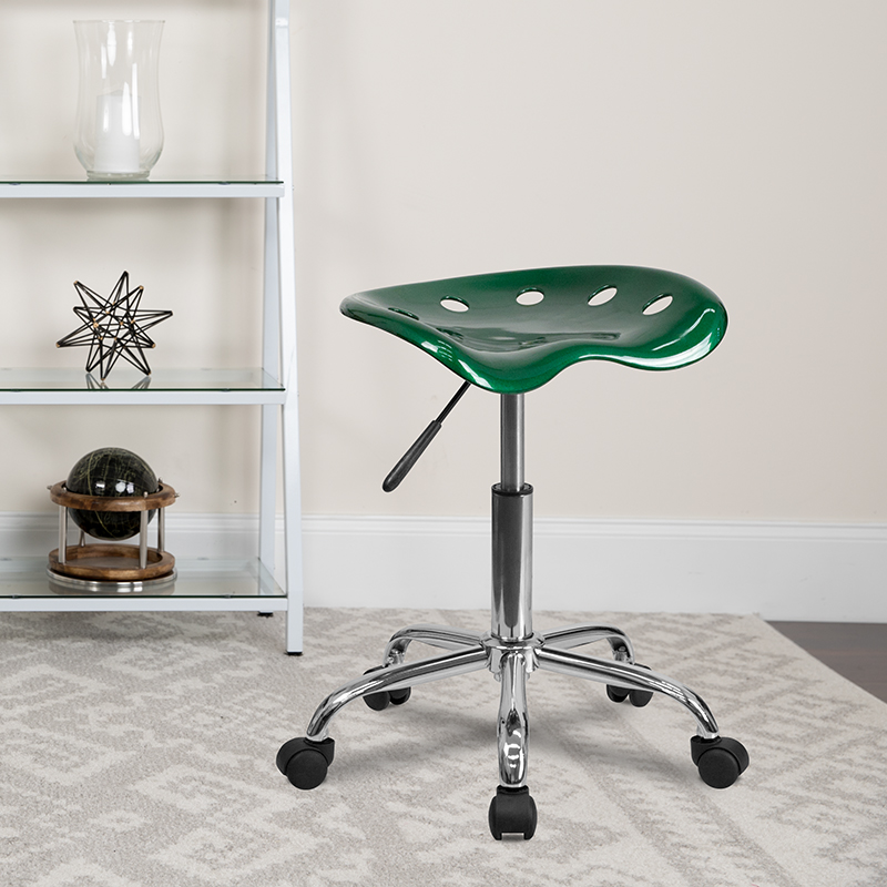 Green Tractor Stool LF-214A-GREEN-GG