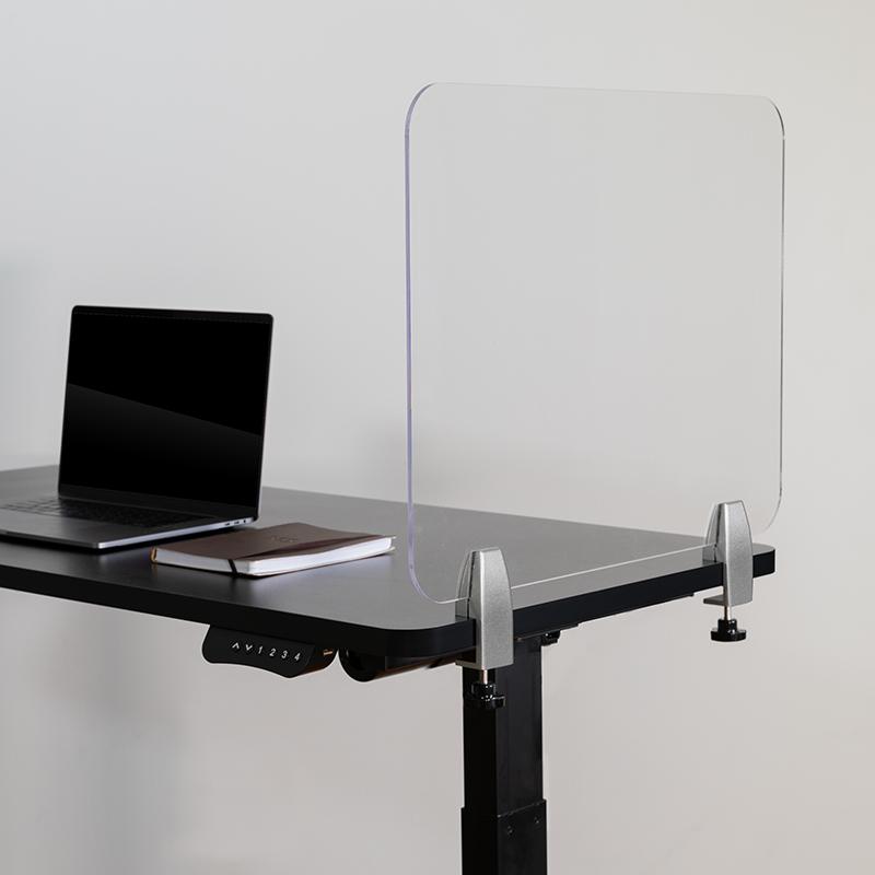 Clear Acrylic Desk Partition BR-DDIA-4558-GG