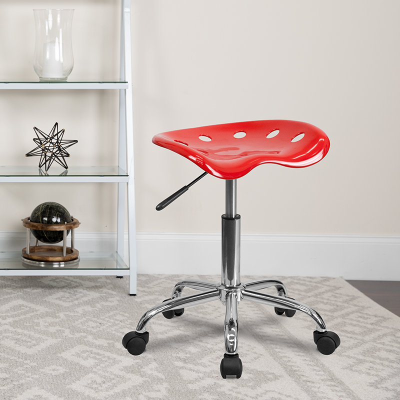 Red Tractor Stool LF-214A-RED-GG