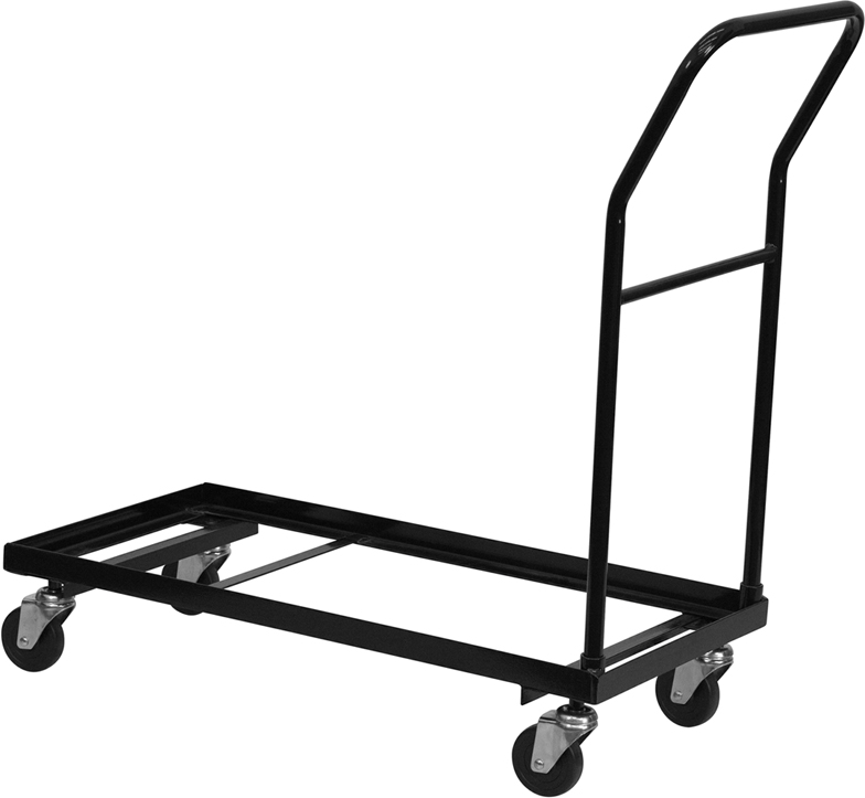 Black Folding Chair Dolly HF-700-DOLLY-GG