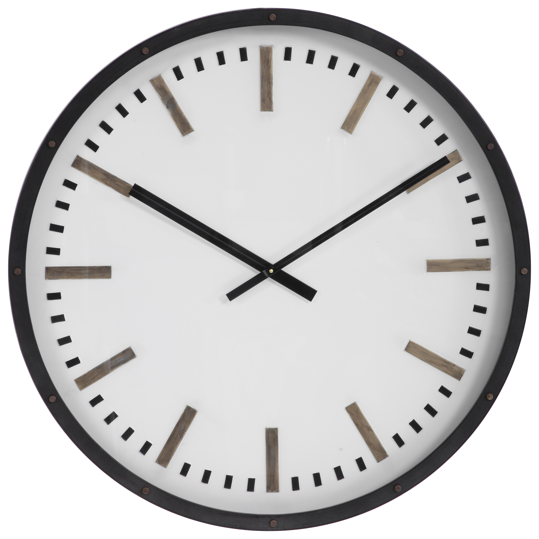 Uttermost Fleming Large Wall Clock