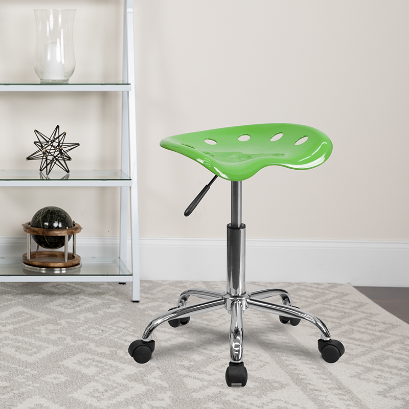Spicy Lime Tractor Stool LF-214A-SPICYLIME-GG