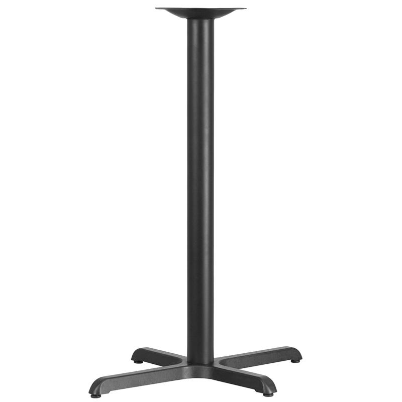 Black 22x30 Bar Height X-Base XU-T2230-BAR-GG